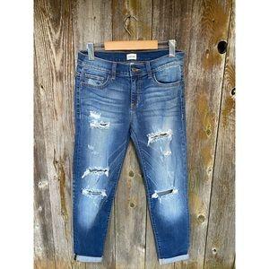 SNEAK PEEK sexy boyfriend distressed denim jeans